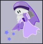 Purple Ghost by DepresiveNeko