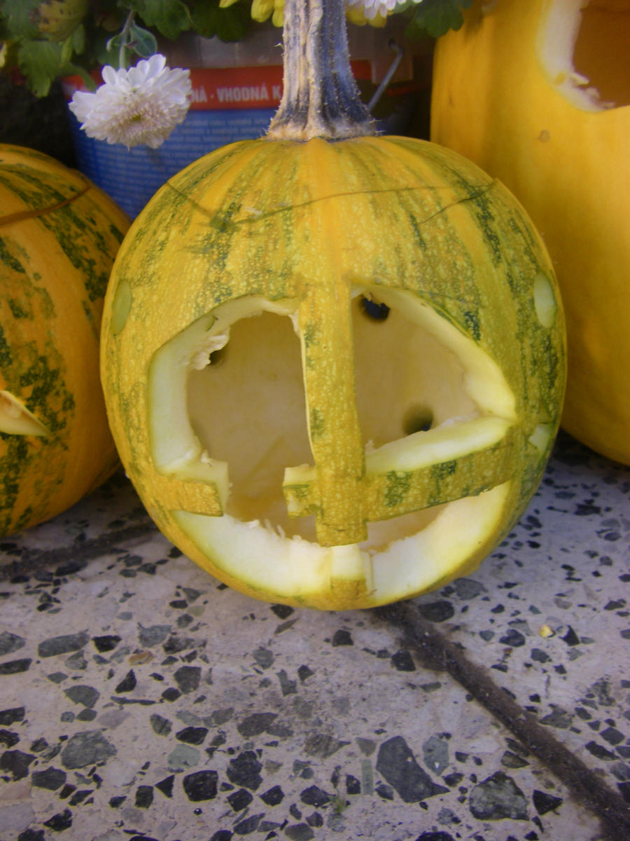 Pumpkin Clock 2012 by DepresiveNeko