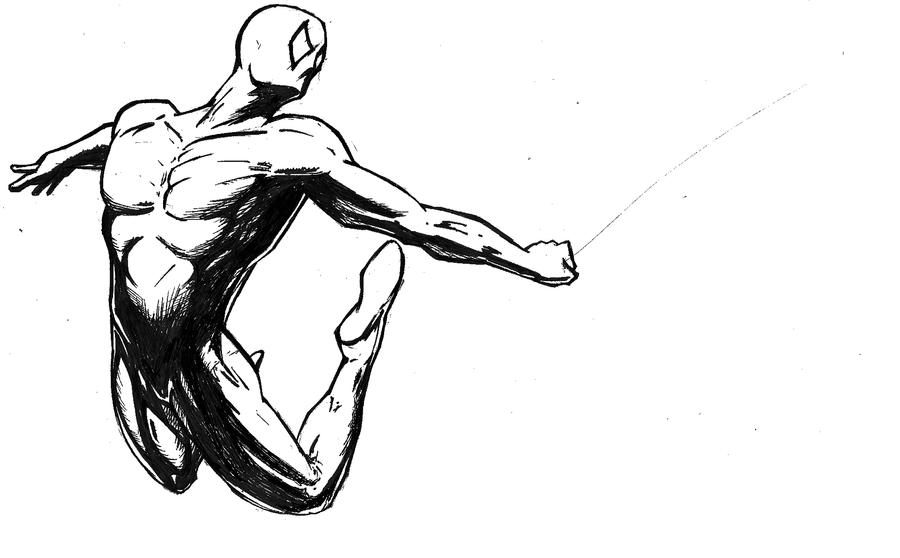 Spider-Man template by vitasimplex on DeviantArt
