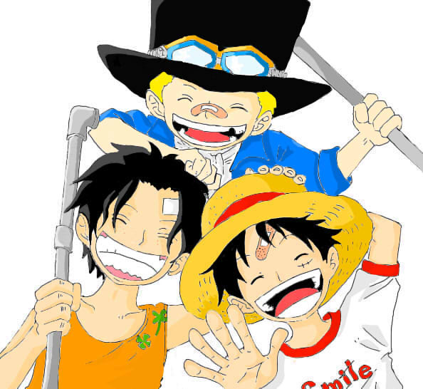 rencontre luffy ace