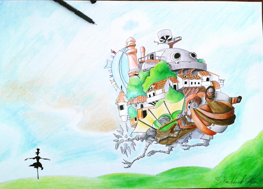 Howl's Moving Castle by ModelingElf
