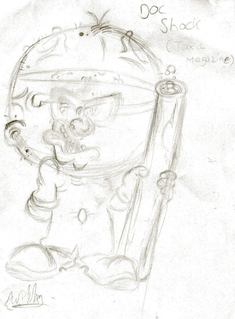Doc Shock - setch by beasty1994