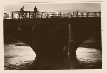 Sepia Toned Bridge by l0uise
