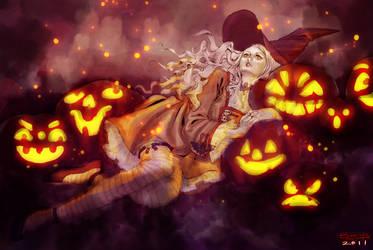 Samhain by herringbonnes