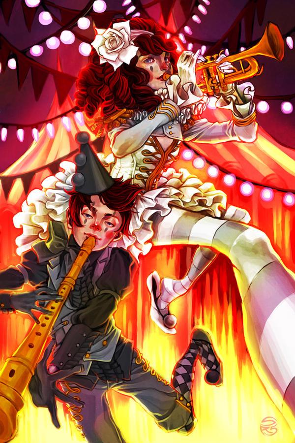 Le Cirque du Reves by herringbonnes