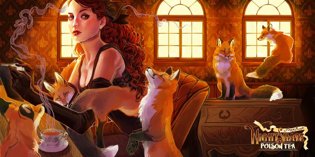 Foxglove by herringbonnes