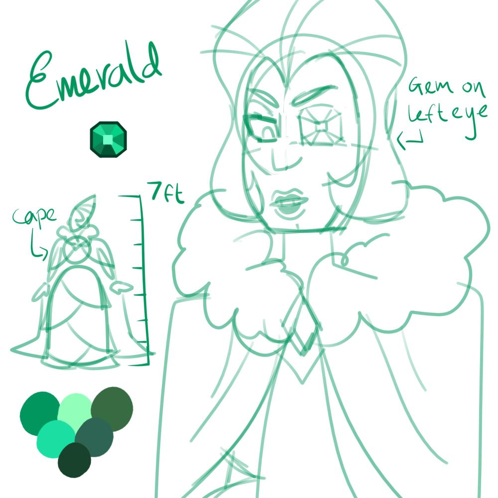 concept: emerald by sakurablitz
