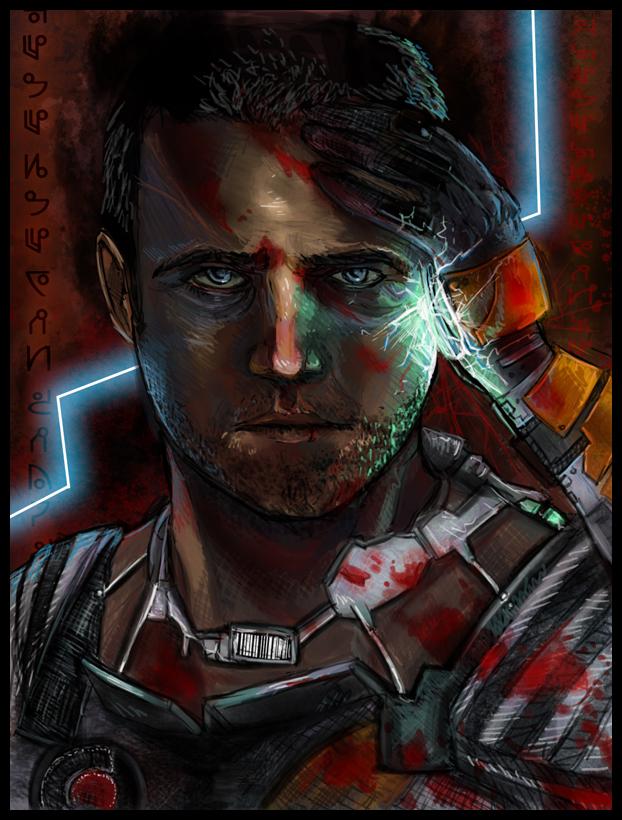 Isaac Clarke by LunaticStar