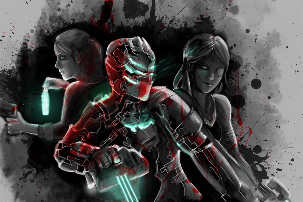Dead Space: Trio by LunaticStar