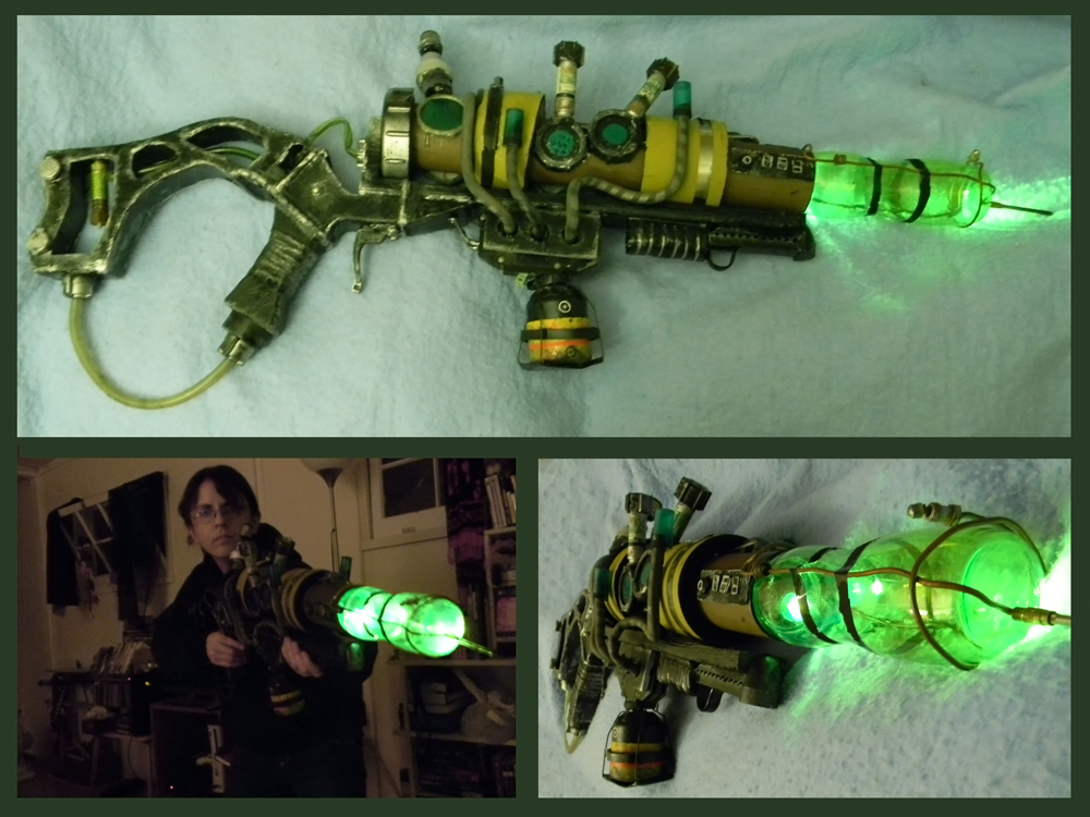 Fallout Plasma Rifle by LunaticStar