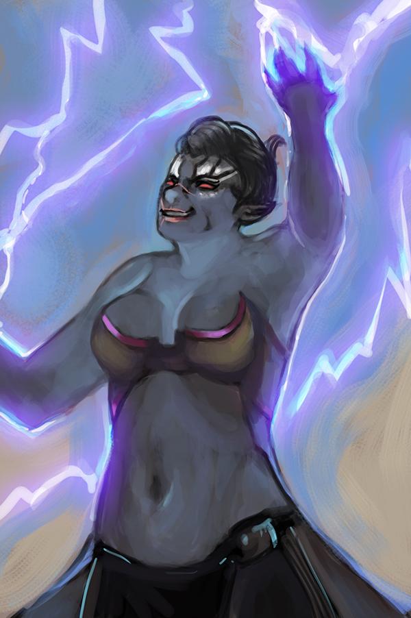 Funfetti Storm by LunaticStar