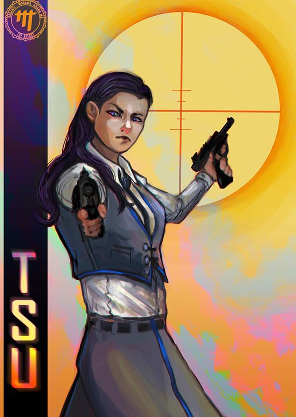 TSU - Asha cover by LunaticStar