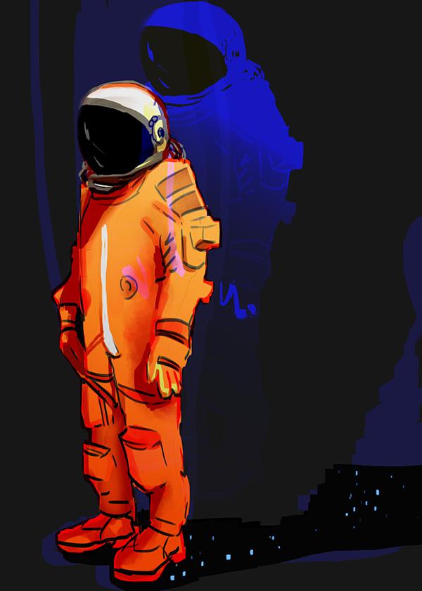 astronaut by LunaticStar