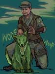 Macready likes your weird dog
