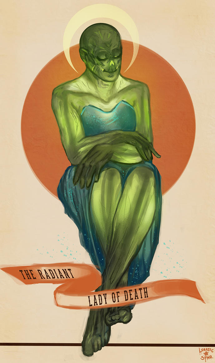 Radiant Lady by LunaticStar