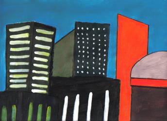 Skyscraper City by Harken-My-Love