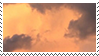 golden clouds stamp by monsterkitties