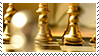 golden chess pieces aesthetic stamp by monsterkitties