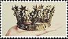 golden crown aesthetic stamp by monsterkitties