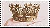 golden crown aesthetic stamp v2 by monsterkitties