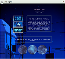 f2u custom box code: late nights by monsterkitties