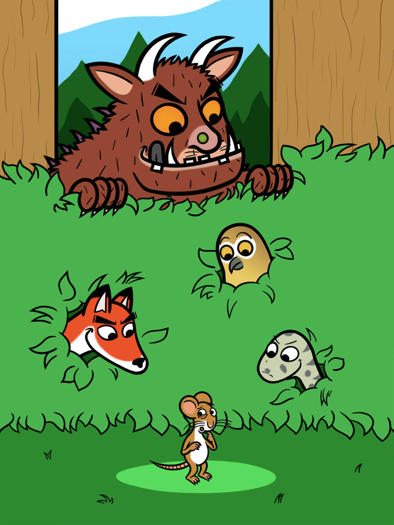 There's not such thing as a Gruffalo! ...Right? by Bortonium