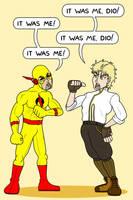 Eobard Thawne vs. Dio Brando