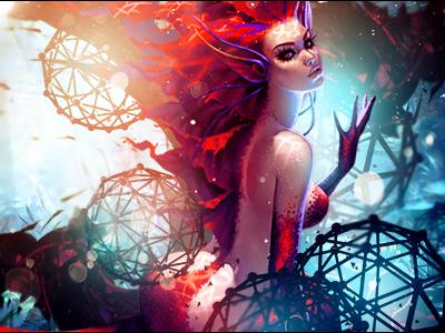 (Mythological Creatures) Mermaid Beauty - Pathogen by pathogen1