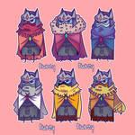 Drifter Chibi - Outfits