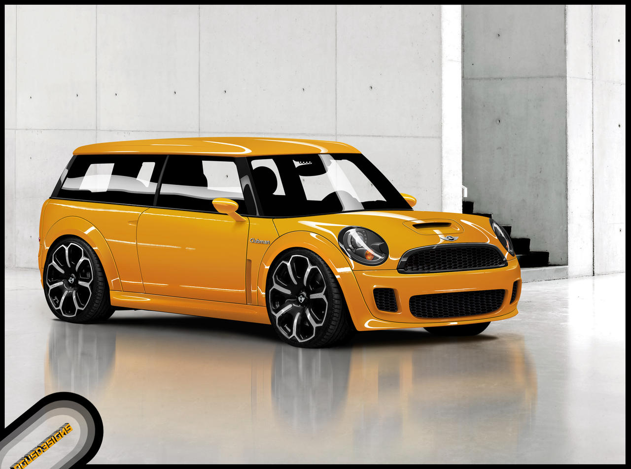 Populaire Mini Clubman by Agus5593 on DeviantArt CE58
