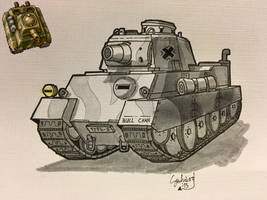 Type-3 Bull Chan (Inktober) by DrEisenhauer28