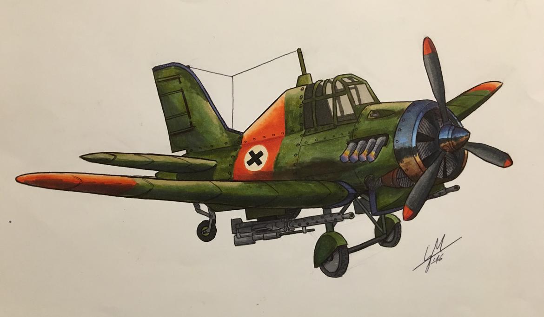 Fighter Plane by DrEisenhauer28