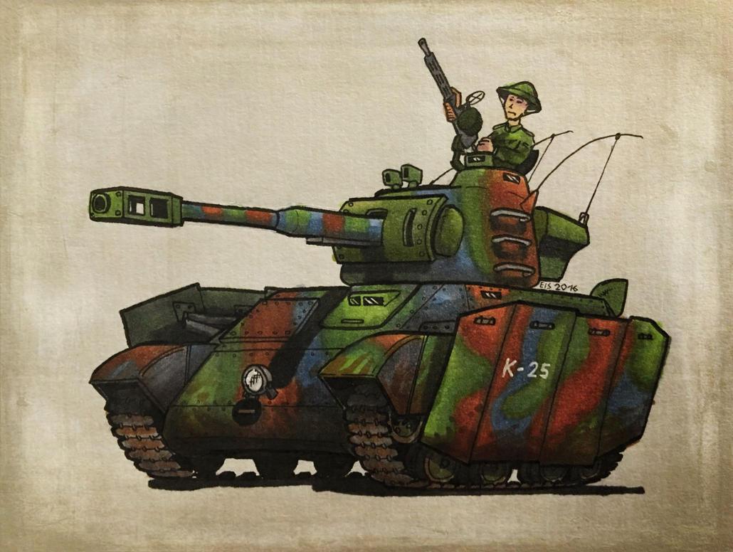 Another Tank by DrEisenhauer28