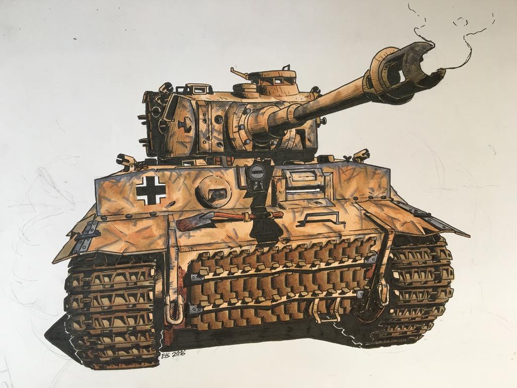 Pzkpfw. VI Tiger I by DrEisenhauer28