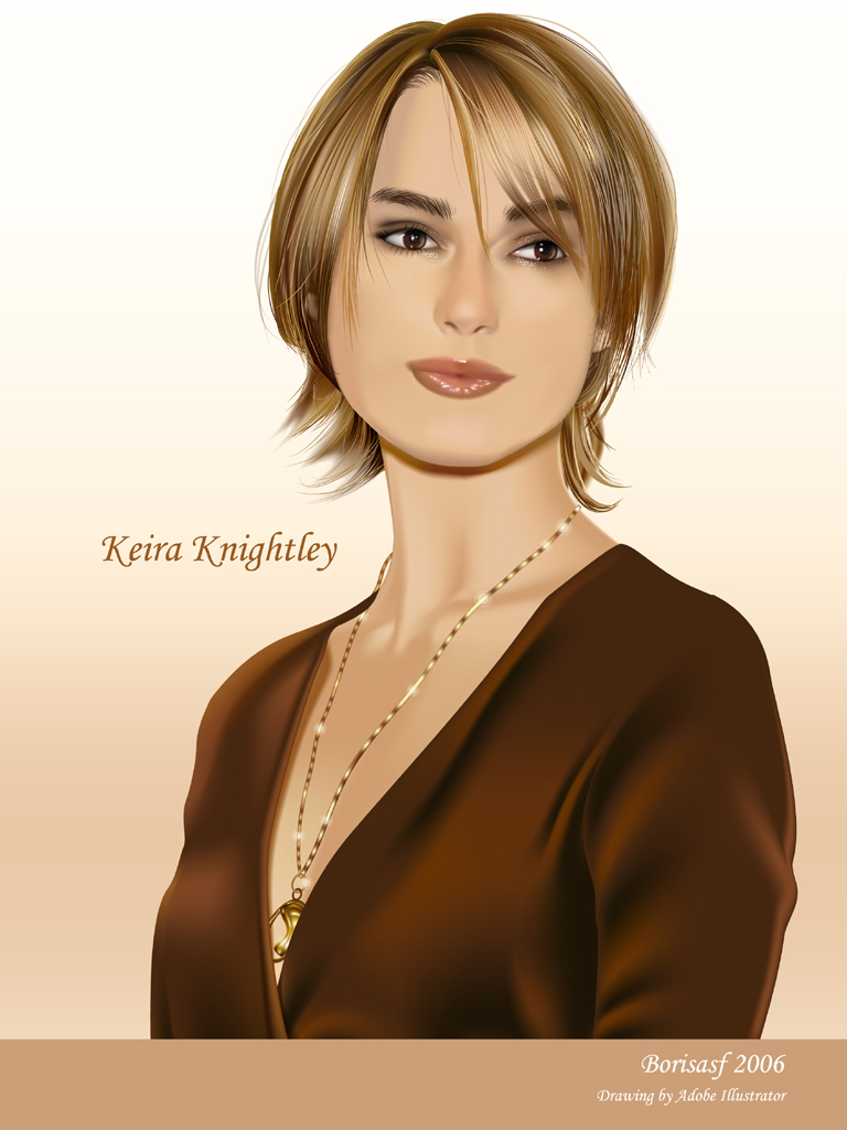 Keira Knightley by Borisasf by borpan on deviantART