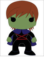 Miss Martian - POP Heroes Style by POPPED-UP