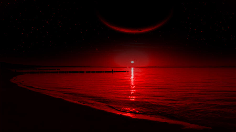 the red sun by hardii on deviantart