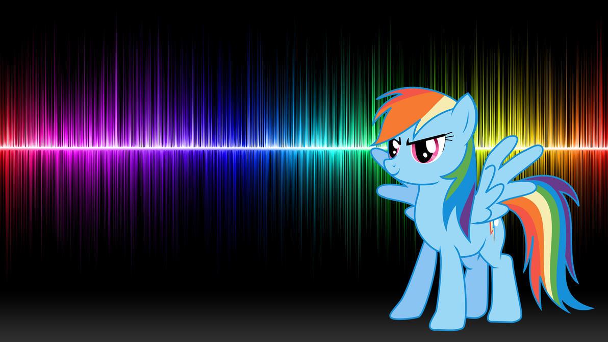 Rainbow Dash 20 Cooler Wallpaper By Hardii