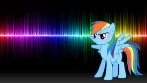 Rainbow Dash 20% cooler! (Wallpaper)