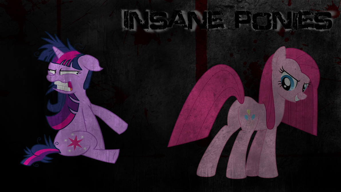 Insane Ponies (Wallpaper) by Hardii