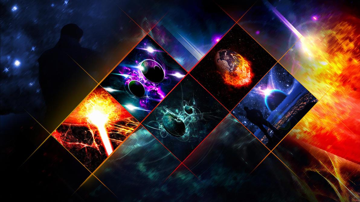 Digital Photoframe (Wallpaper) by Hardii