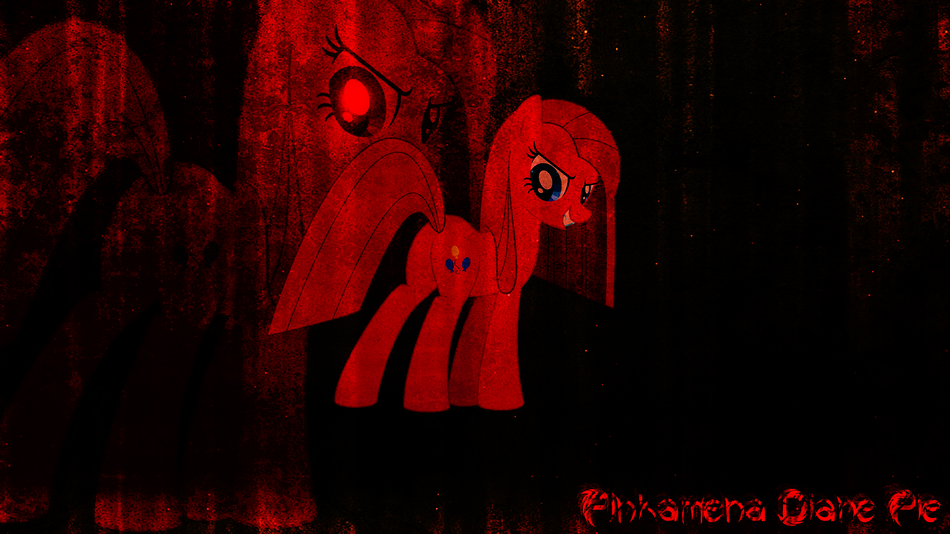 Pinkamena Diane Pie (Wallpaper) by Hardii