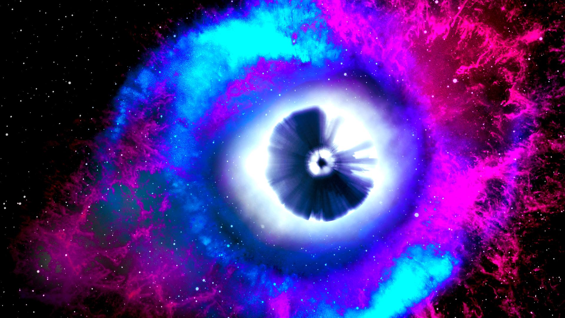 Space Eye (Wallpaper) by Hardii