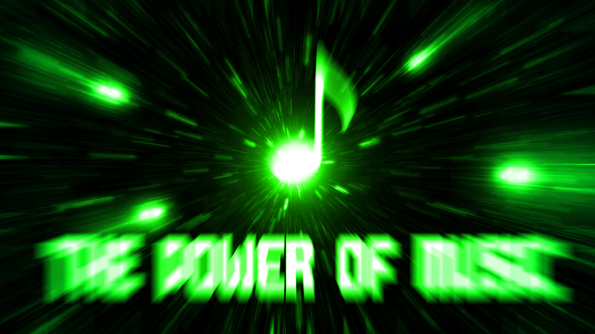 Great Wallpaper Music Neon Green - the_power_of_music__wallpaper__by_hardii-d5ja31r  Collection_789743.png