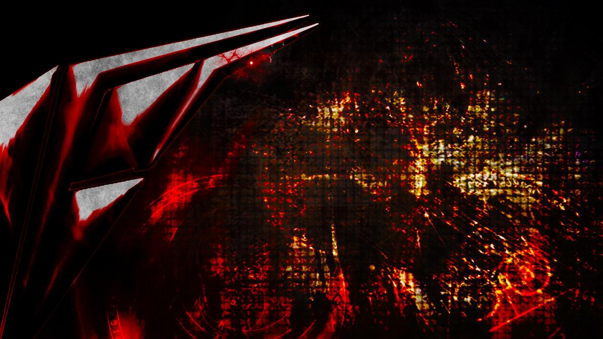 Hardi's evil logo side (Wallpaper) by Hardii
