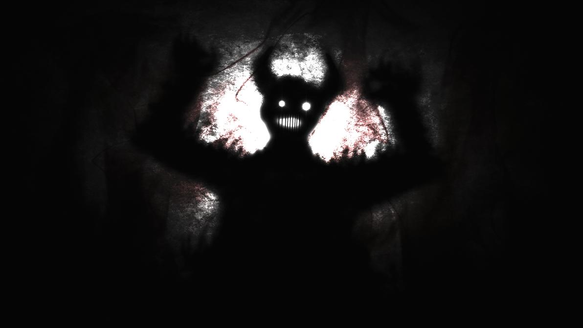 The Black Demon (Wallpaper) by Hardii