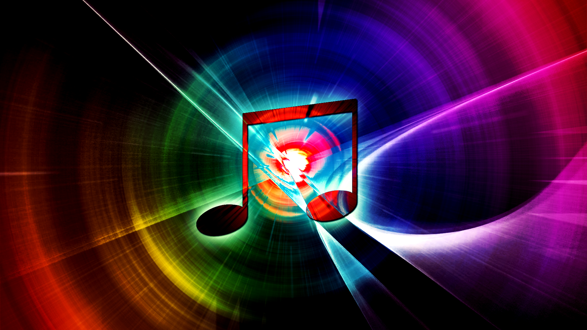 Must see Wallpaper Music Rainbow - rainbow_music__wallpaper__raven9000111_request__by_hardii-d5s14fc  Picture_91278.png