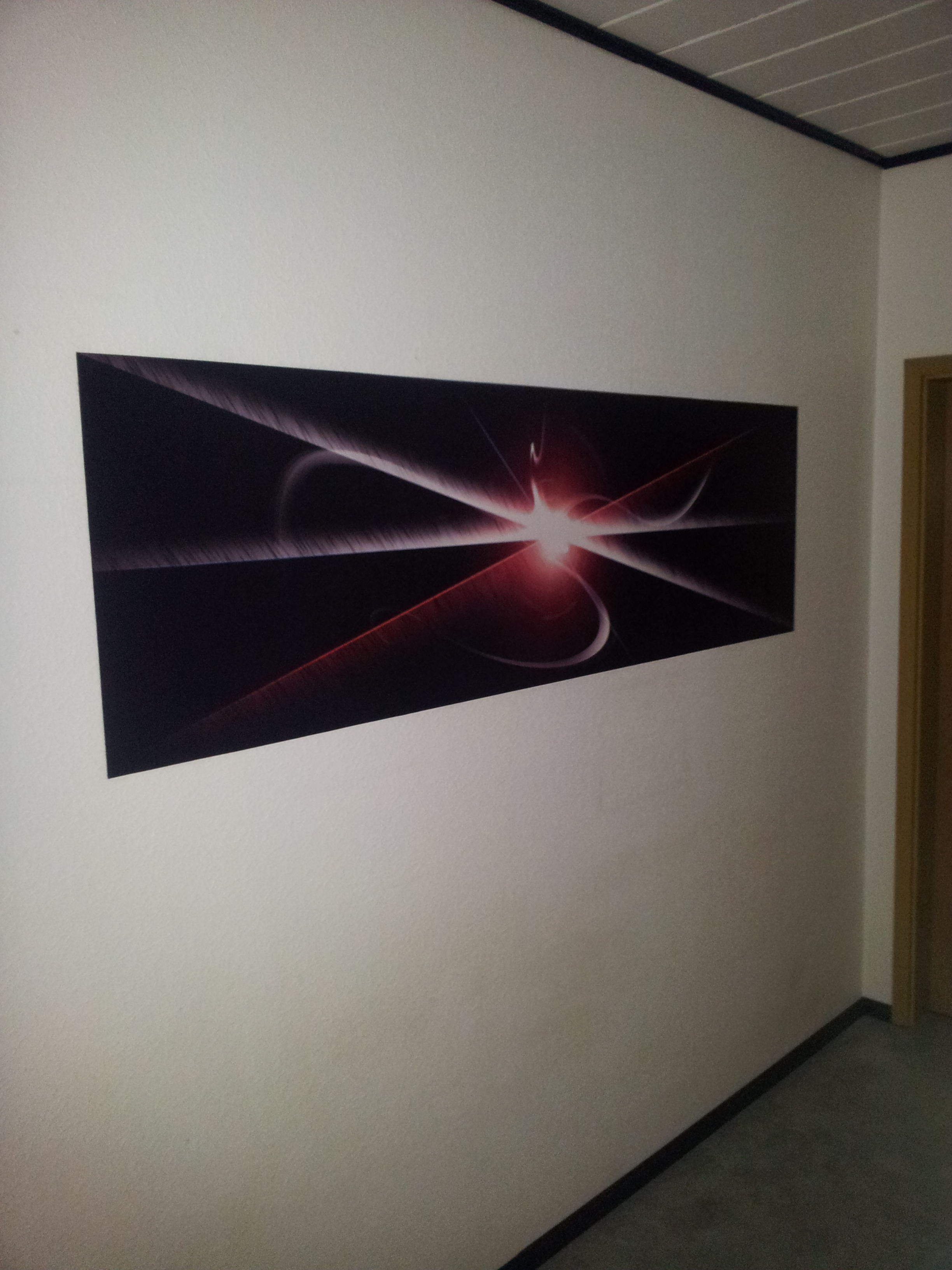Our tuned corridor wall :D by Hardii