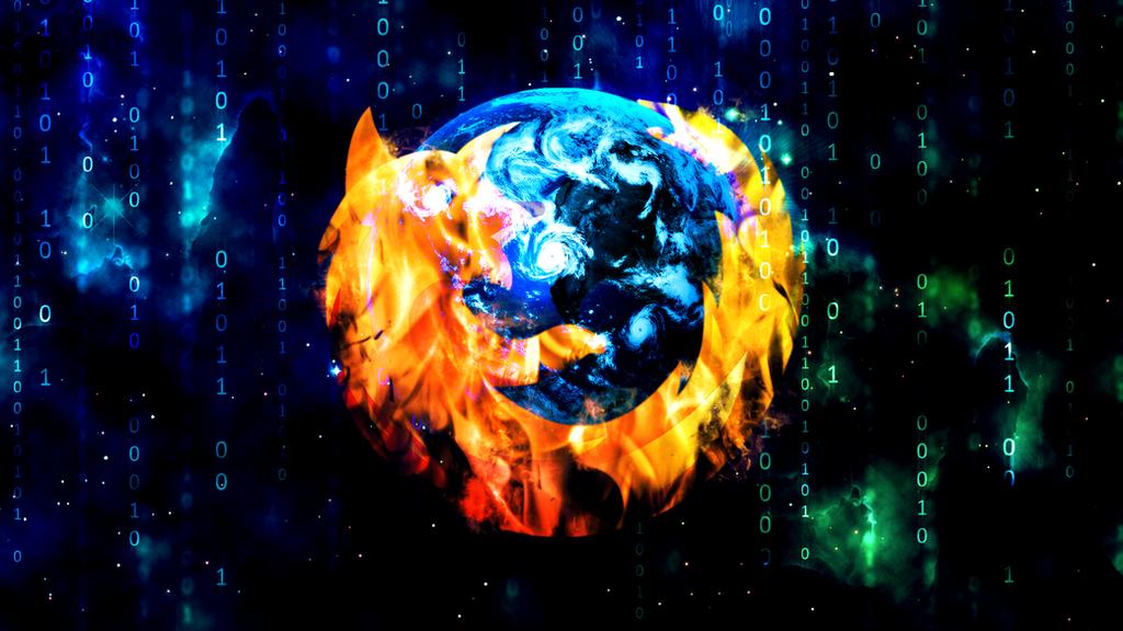 Firefox (Wallpaper) by Hardii