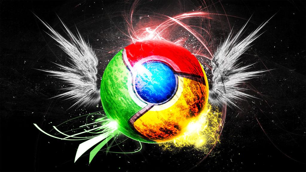 Google Chrome (Wallpaper) by Hardii
